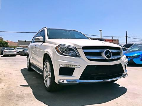 2015 Mercedes-Benz GL-Class for sale at Fastrack Auto Inc in Rosemead CA