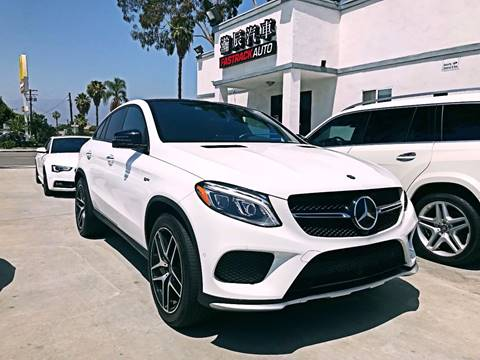 2017 Mercedes-Benz GLE for sale at Fastrack Auto Inc in Rosemead CA