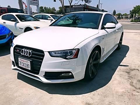 2014 Audi S5 for sale at Fastrack Auto Inc in Rosemead CA