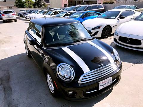 2012 MINI Cooper Hardtop for sale at Fastrack Auto Inc in Rosemead CA