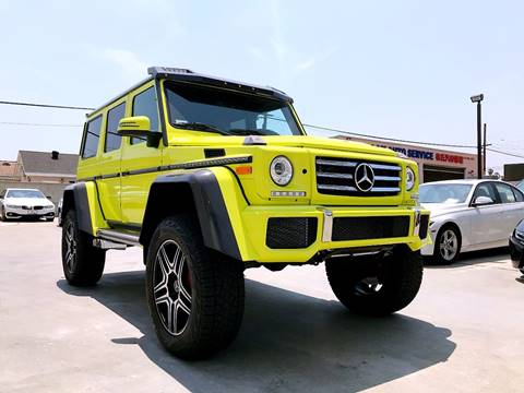2017 Mercedes-Benz G-Class for sale at Fastrack Auto Inc in Rosemead CA
