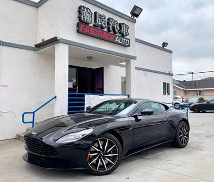 2018 Aston Martin DB11 for sale at Fastrack Auto Inc in Rosemead CA