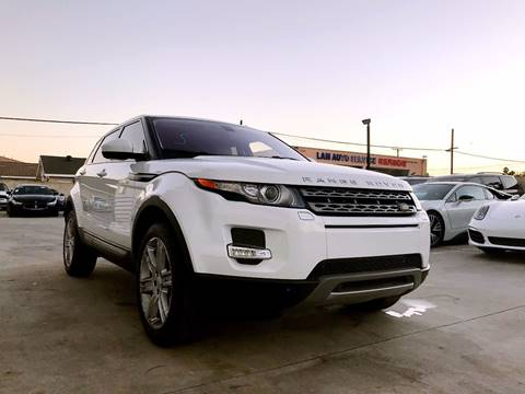 2015 Land Rover Range Rover Evoque for sale at Fastrack Auto Inc in Rosemead CA