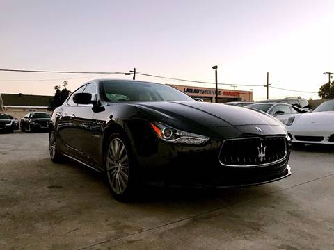 2015 Maserati Ghibli for sale at Fastrack Auto Inc in Rosemead CA