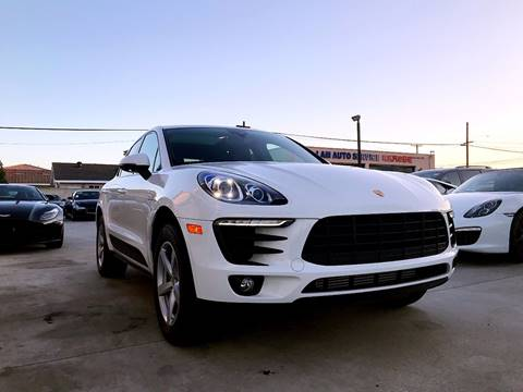 2018 Porsche Macan for sale at Fastrack Auto Inc in Rosemead CA