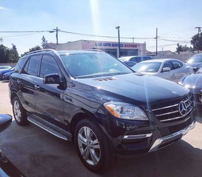 2013 Mercedes-Benz M-Class for sale at Fastrack Auto Inc in Rosemead CA