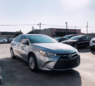 2015 Toyota Camry Hybrid for sale at Fastrack Auto Inc in Rosemead CA