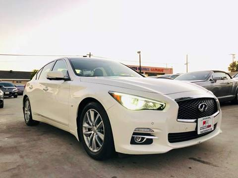 2014 Infiniti Q50 for sale at Fastrack Auto Inc in Rosemead CA