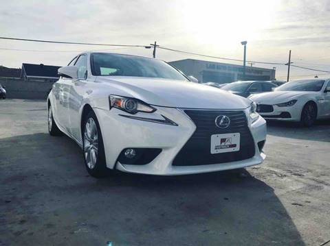 2014 Lexus IS 250 for sale at Fastrack Auto Inc in Rosemead CA
