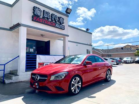 2014 Mercedes-Benz CLA for sale at Fastrack Auto Inc in Rosemead CA