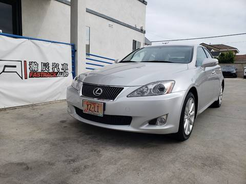 2010 Lexus IS 250 for sale at Fastrack Auto Inc in Rosemead CA