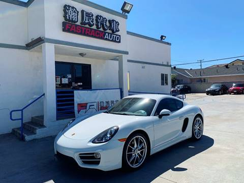 2014 Porsche Cayman for sale at Fastrack Auto Inc in Rosemead CA
