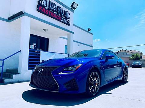 2017 Lexus RC F for sale at Fastrack Auto Inc in Rosemead CA