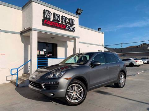 2014 Porsche Cayenne for sale at Fastrack Auto Inc in Rosemead CA