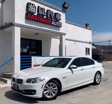 2016 BMW 5 Series for sale at Fastrack Auto Inc in Rosemead CA