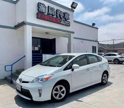 2014 Toyota Prius for sale at Fastrack Auto Inc in Rosemead CA