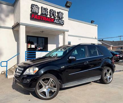 2010 Mercedes-Benz M-Class for sale at Fastrack Auto Inc in Rosemead CA