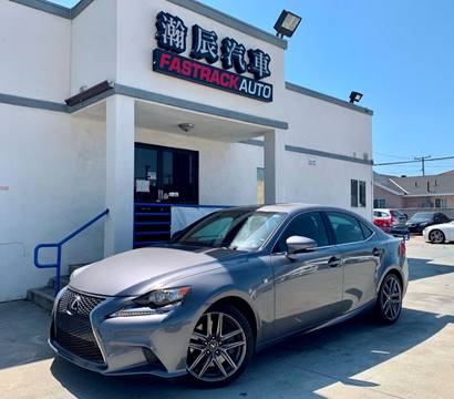 2014 Lexus IS 350 for sale at Fastrack Auto Inc in Rosemead CA