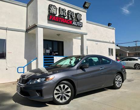 2014 Honda Accord for sale at Fastrack Auto Inc in Rosemead CA