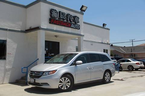2015 Honda Odyssey for sale at Fastrack Auto Inc in Rosemead CA