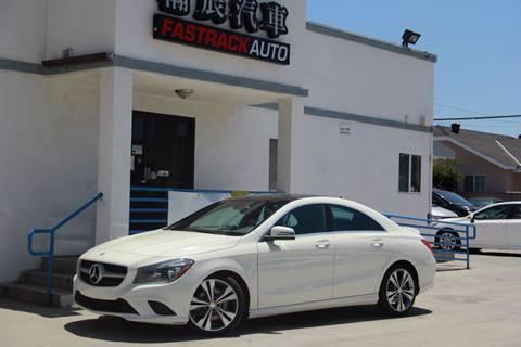 2016 Mercedes-Benz CLA for sale at Fastrack Auto Inc in Rosemead CA