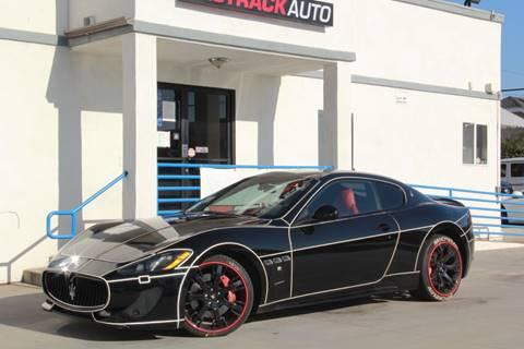 2013 Maserati GranTurismo for sale at Fastrack Auto Inc in Rosemead CA