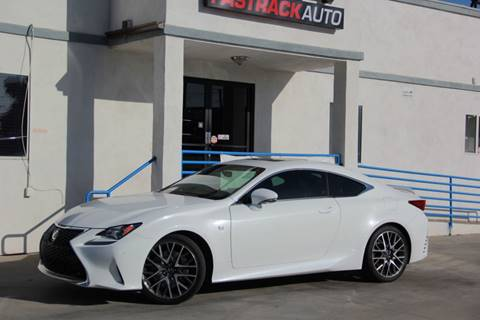 2016 Lexus RC 200t for sale at Fastrack Auto Inc in Rosemead CA