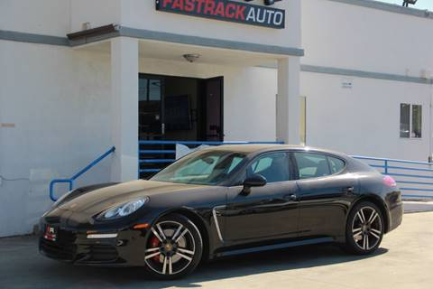 2014 Porsche Panamera for sale at Fastrack Auto Inc in Rosemead CA