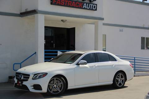 2017 Mercedes-Benz E-Class for sale at Fastrack Auto Inc in Rosemead CA