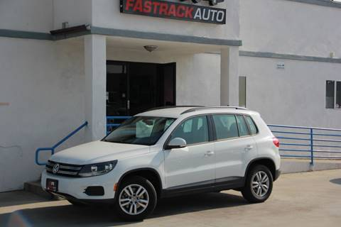 2017 Volkswagen Tiguan for sale at Fastrack Auto Inc in Rosemead CA