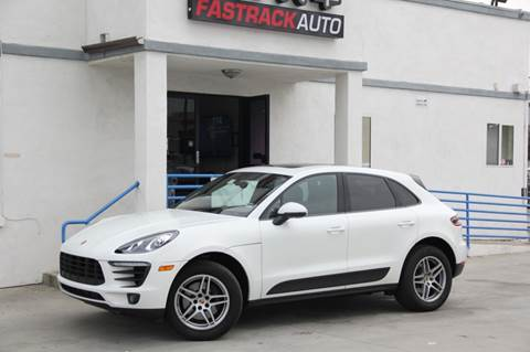 2017 Porsche Macan for sale at Fastrack Auto Inc in Rosemead CA
