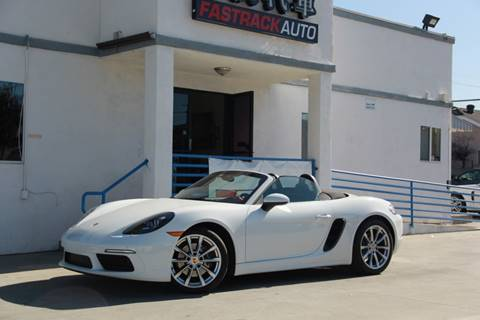 2017 Porsche 718 Boxster for sale at Fastrack Auto Inc in Rosemead CA