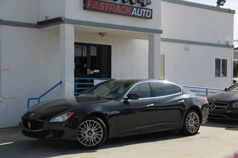 2014 Maserati Quattroporte for sale at Fastrack Auto Inc in Rosemead CA