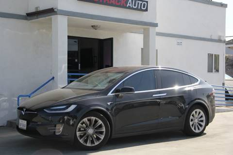 2017 Tesla Model X for sale at Fastrack Auto Inc in Rosemead CA