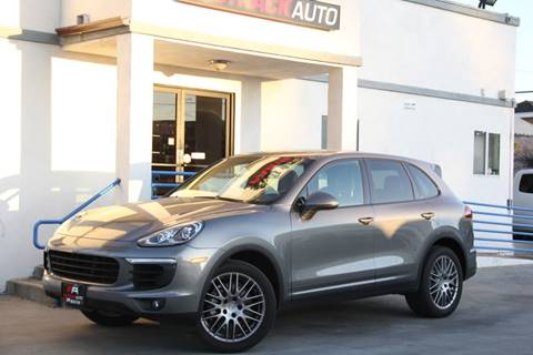 2017 Porsche Cayenne for sale at Fastrack Auto Inc in Rosemead CA