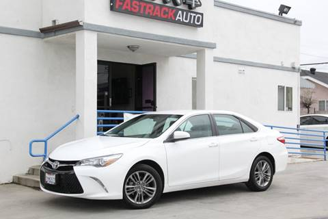 2017 Toyota Camry for sale at Fastrack Auto Inc in Rosemead CA