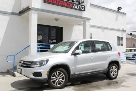 2013 Volkswagen Tiguan for sale at Fastrack Auto Inc in Rosemead CA