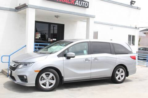 2018 Honda Odyssey for sale at Fastrack Auto Inc in Rosemead CA