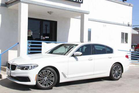 2019 BMW 5 Series for sale at Fastrack Auto Inc in Rosemead CA