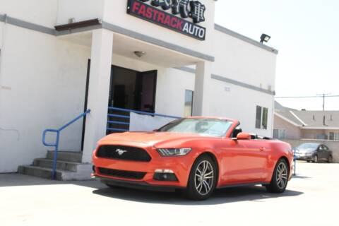 2016 Ford Mustang for sale at Fastrack Auto Inc in Rosemead CA