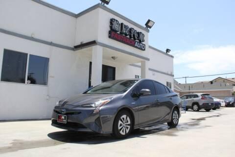 2018 Toyota Prius for sale at Fastrack Auto Inc in Rosemead CA