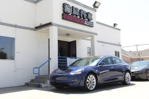 2019 Tesla Model 3 for sale at Fastrack Auto Inc in Rosemead CA