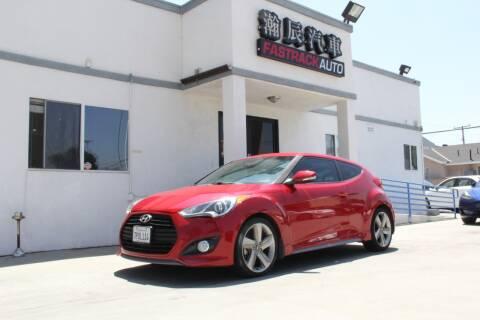 2013 Hyundai Veloster for sale at Fastrack Auto Inc in Rosemead CA
