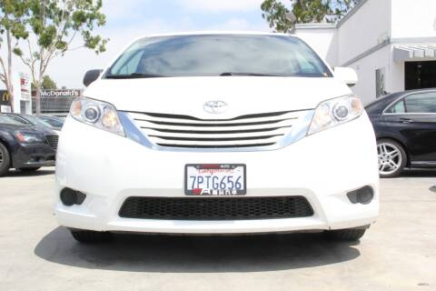 2015 Toyota Sienna for sale at Fastrack Auto Inc in Rosemead CA