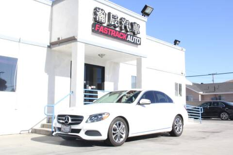 2017 Mercedes-Benz C-Class for sale at Fastrack Auto Inc in Rosemead CA