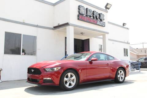 2017 Ford Mustang for sale at Fastrack Auto Inc in Rosemead CA