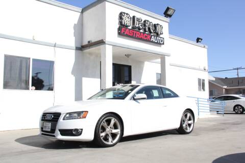 2012 Audi A5 for sale at Fastrack Auto Inc in Rosemead CA