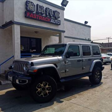 2018 Jeep Wrangler Unlimited for sale at Fastrack Auto Inc in Rosemead CA