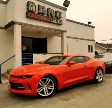 2016 Chevrolet Camaro for sale at Fastrack Auto Inc in Rosemead CA