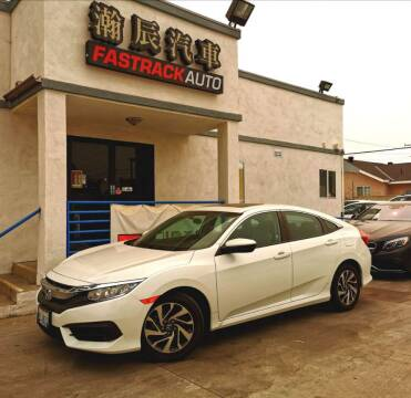 2016 Honda Civic for sale at Fastrack Auto Inc in Rosemead CA